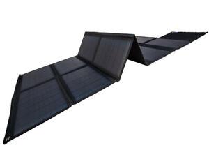 Solarmodul mono faltbar 20-120W Faltmodul Solarpanel mobil camping USB DC Power