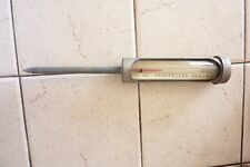 New listing Vintage Heavy Duty Hanging Stem Liquid Thermometer -30 To 216 Degrees