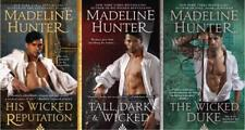 Madeline Hunter WICKED TRILOGY Historical Romance Series Collection Books 1-3 MP