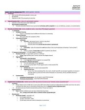 MBE Bar Exam Preparation Outlines - ALL MBE SUBJECTS INCLUDED - Study Guides