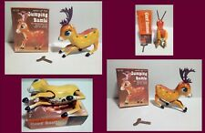 TIN TOY - JUMPING BAMBI MS 107 - CARICA AD OROLOGIO - MADE IN CHINA