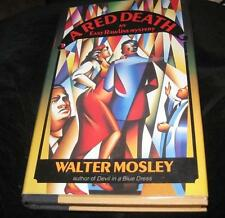 """A RED DEATH"" BY MOSLEY 1991 1ST/1ST SIGNED ! SEQUEL TO ""DEVIL IN A BLUE DRESS"""