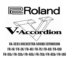 Roland FR-7X/ FR-3X / FR-1X/ FR8X/ V Accordion/Accordeon SOUND EXPANSION