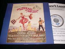 "THE SOUND OF MUSIC<>JULIE ANDREWS<>3X12"" Laserdisc<>FOX VIDEO CLV 4267-85"