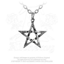 Alchemy - Pentagram - Pewter Pendant