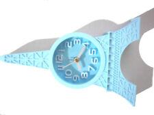 Quartz Table Alarm Clock Blue Item 5257