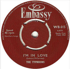 "Ray Pilgrim And The Beatmen / The Typhoons - 5-4-3-2-1 / I'm In Love (7"", Sin..."