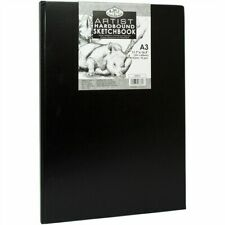 Royal & Langnickel A3 80 Sheet Hardback Casebound Artist Sketchbook Drawing Pad