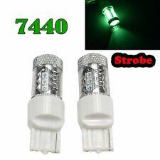 Strobe T20 7440 7441 992 W21W 12V 80W Green LED Rear Signal Light M1 Japan