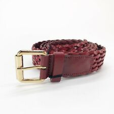 Cintura da Uomo in Pelle Cinta intrecciata POLLINI 115 cm.