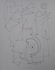 Albert Hennig, Bauhaus Dessau, penna disegno, Gurshaan nachlaßstempel, Top!