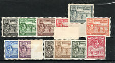 More details for turks and caicos islands 1938-45 values to 2s mnh/mlh