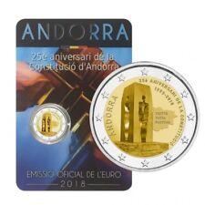 ANDORRA 2 euro 2018 - 25 aniversario de la Constitución Andorrana