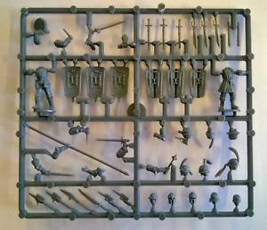 Perry Miniatures Plastic 'Mercenaries', European Infantry 1450-1500 Command Spru