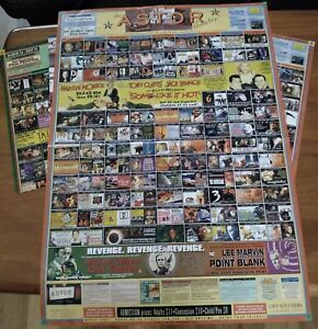 OLD ASTOR THEATRE MELBOURNE,  MONTHLY MOVIE PROGRAMS POSTERS FROM 2001 EXC COND.