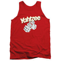 YAHTZEE TUMBLING DICE Licensed Men's Graphic Tank Top Sleeveless Tee SM-2XL