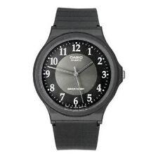 Casio Mq24-1b3 Men's Black Analog Resin Sports Buckle Band 35mm Watch