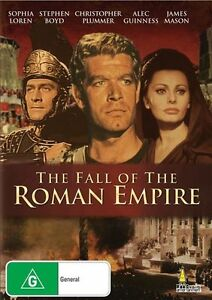 The Fall Of The Roman Empire DVD Christopher Plummer 2 Disc Deluxe New AUS
