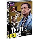 Paul Temple Collection 1 (DVD, 2010, 3-Disc Set) - Excellent Condition