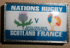 Scotland vs France nations Rugby Badge