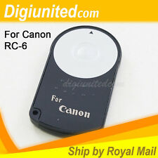 Wireless Camera Remote Controller for Canon RC-6 EOS 700D 650D 60D 5D II III UK