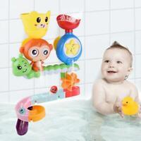Children Kids Bath Toy Wall Sunction Water Play Sprinkler Game (Monkey)
