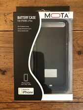 MOTA - External Battery Case for Apple® iPhone® Plus, New in Box