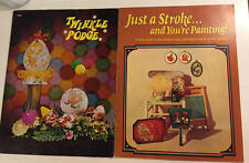Mixed Lot of 2 TWINKLE PODGE, TOLE PAINTING Booklets EUC Art & Crafting Projects