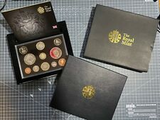 More details for 2008 the royal mint united kingdom proof coin collection in presentation box.