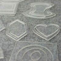 Reusable Patchwork Templates Kit Set Sewing Crafts Handmade Tool Accessories