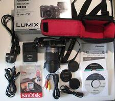 Digital Camera Panasonic LUMIX DMC GF2 + zoom Vario G 14-42  Complete Box + card