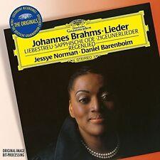 Norman / Barenboim - Originals: Brahms Lieder [New CD]