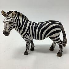 Schleich Zebra Toy Figure Figurine Safari Animal 2008