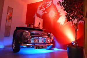 Mini Cooper Style Home Office Garage or Showroom Automotive Desk / Car Furniture