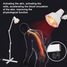 Floor Stand Infrared Therapy Heat Lamp Light Health Pain Relief Physiotherapy