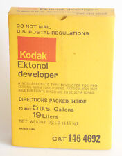 KODAK EKTONOL DEVELOPER 5 GALLON CONTAINER IN BOX