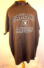 NFL OAKLAND RAIDERS   ** NEW SIZE XL **GRAY & BLACK TEE SHIRT