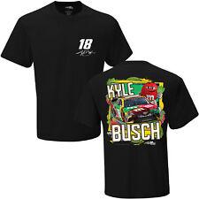 2018 NASCAR t-shirt - #18 * m&m 's Flavor vote * Kyle Busch-negro talla XL