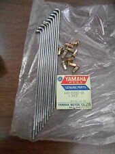 NOS Yamaha OEM 10 Outer Left Spoke Set 74 & 76 DT125 1976 DT175 443-25397-90