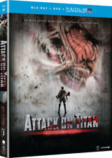 Attack On Titan The Movie: Part 1 [New Blu-ray] With DVD, UV/HD Digital Copy