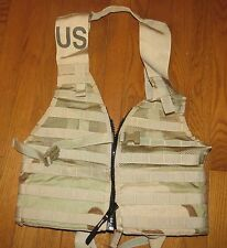 """US ARMY Ammo Vest Molle II Up To 38"""" Waist 100 + Attachment points NEW!"""