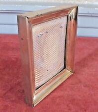 cadre ancien tout en bronze frame