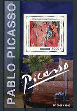 República Centroafricana 2015 estampillada sin montar o nunca montada Pablo Picasso 1v S/S Art Pinturas Avignon