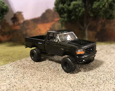 1993 Ford F-150 4x4 Truck Lifted 1/64 Diecast Custom Farm Off Road Mudder 4WD