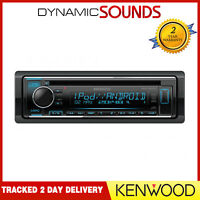 Kenwood KDC-220UI CD MP3 USB Aux Stereo iPhone iPod Andorid Car Radio Tuner