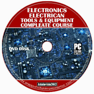 Electronics Technician Electrician Training Course Guide Manuals Tools Equipment
