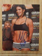 "Gina Carano  Hand Signed  Autograph  8x10"" Photo 125544"