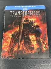TRANSFORMERS AGE OF EXTINCTION BLURAY 3 DISCS STEELBOOK FRANCE NEUF