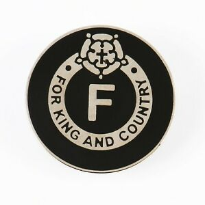 BUF BRITISH UNION OSWALD MOSLEY FOR KING AND COUNTRY F ENAMEL BADGE