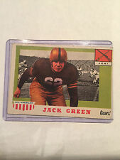 1955 Topps - All American #53 Jack Green